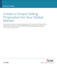 Create a Unique Selling Proposition for Your Global Market