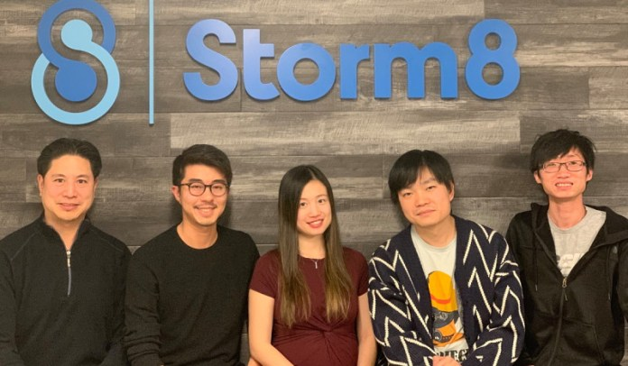 Storm8 leaders (left to right): Terence Fung, Perry Tam, Laura Yip,