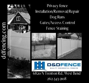 D&D Fence in West Bend