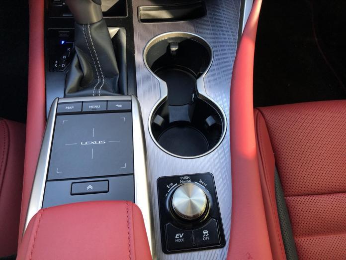 2020 Lexus RX450h interior