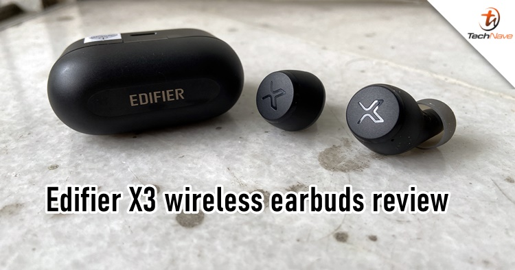 Edifier X3 wireless earbuds review An affordably decent