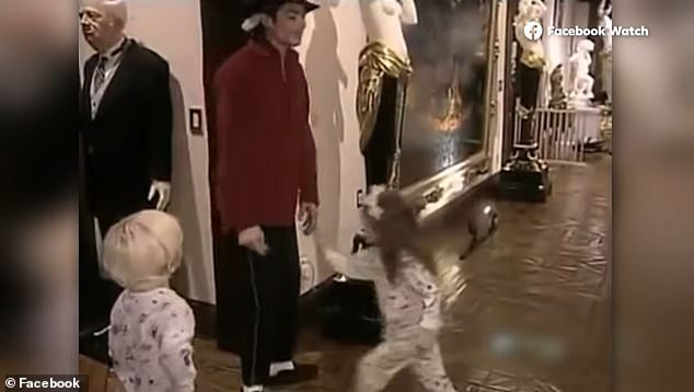 Paris Jackson's upcoming Facebook Watch documentary features never-before-seen home video of herself and her famous father, Michael Jackson (pictured)