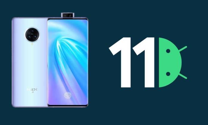 vivo nex 3s android 11