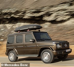 The G-Wagen is not a big seller, but there's a strong market for it and production outputs are low