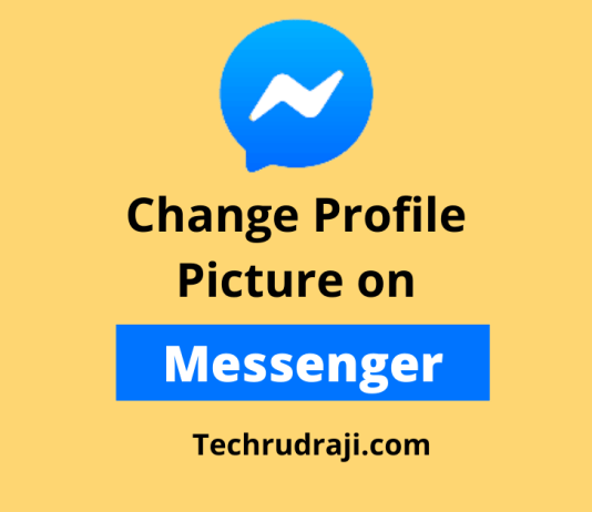 How to Change Profile Picture on Messenger App