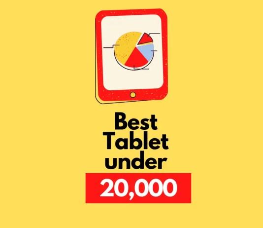 Best Tablet under 20000