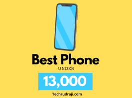 Best Phone Under 13000