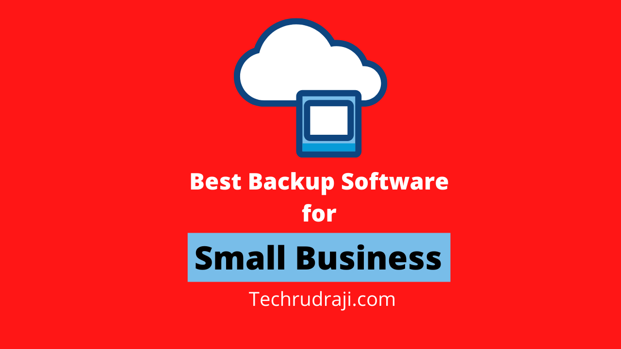 best backup software for small business