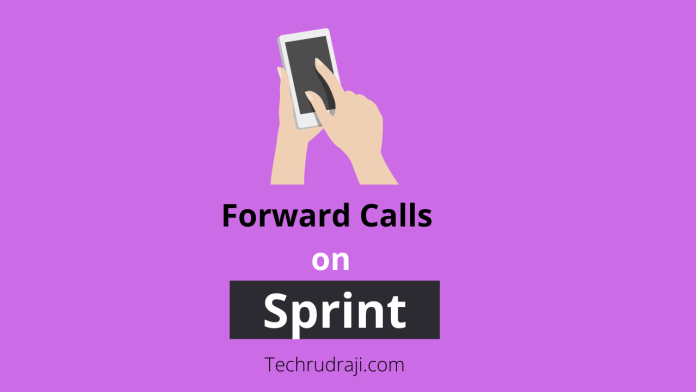 how to forward calls on sprint