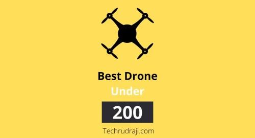 best drone under £200 uk