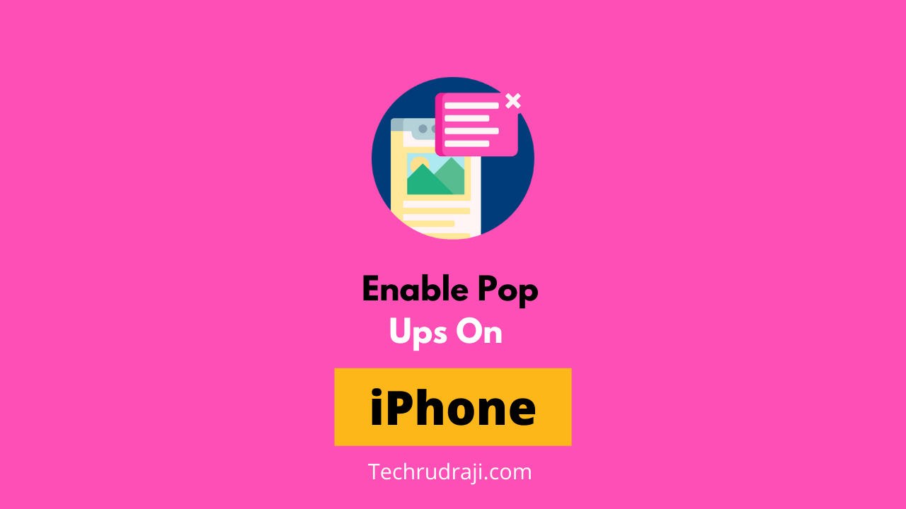 how to enable pop ups on iphone