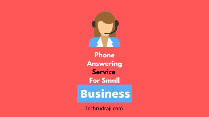 phone answering service for small business