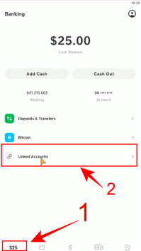 how to change card on cash app