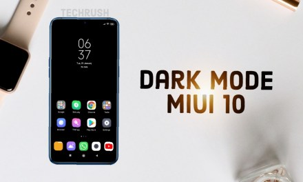 Dark Version of MiUi 10