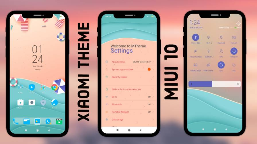 MStress Relief MIUI 10 Theme Download For Redmi Device