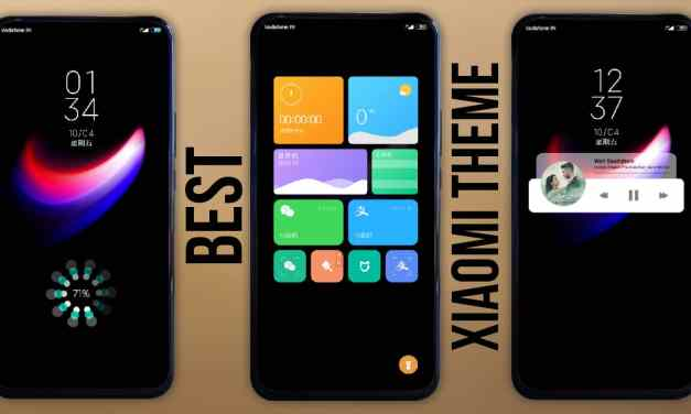 Next MiUi themes for xiaomi device