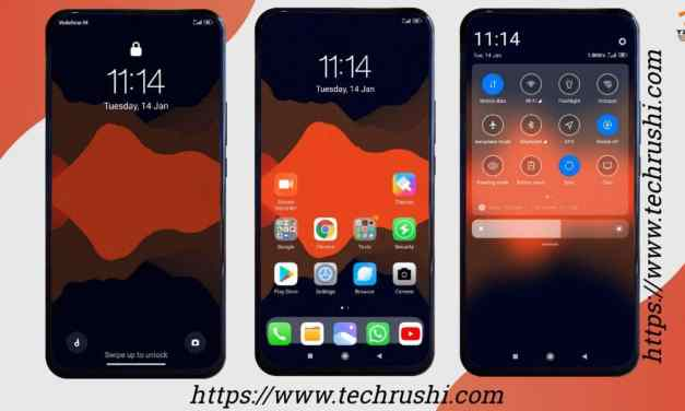 IOS Transparent_DWM4 MiUi 11 Xiaomi THEME