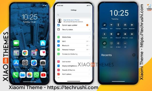 Realiox 13 Xiaomi Theme Download