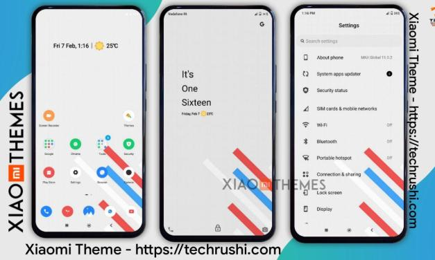 Download Evolution X OS Xiaomi Theme