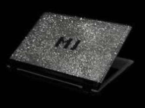 mj's swarovski diamond studded notebook mj's swarovski diamond studded swarovski diamond studded notebook alienware area 51 m15x mj's swarovski diamond Expensive Laptops