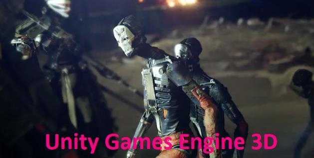 Unity Games Engine 3D
