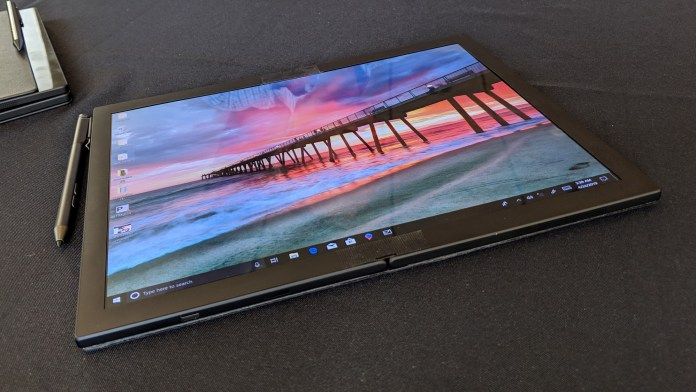 Lenovo's First Foldable PC – Coming soon in 2020