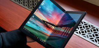 lenovo first foldable laptop