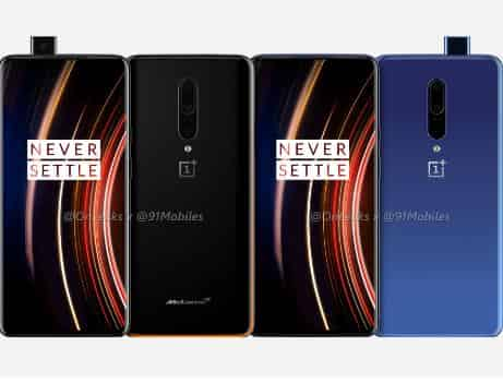 OnePlus 7T Pro and OnePlus 7T Pro McLaren Edition - Renders Leaked