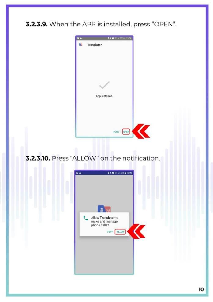 MUAMA Enence Instant Voice Translator User Manual 11