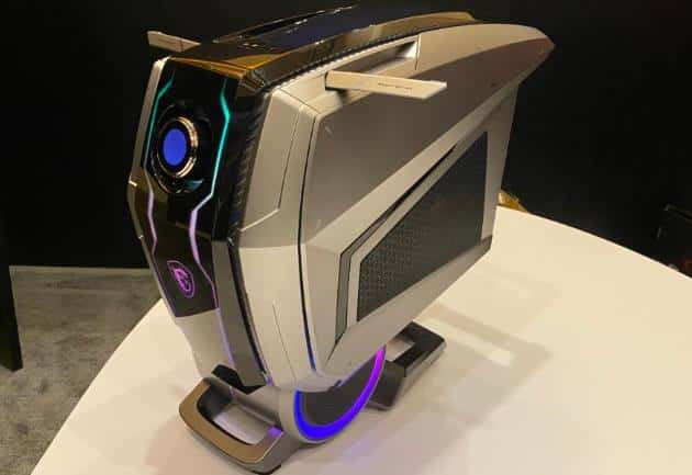 The new MSI Gaming PC looks like the Robot's head
