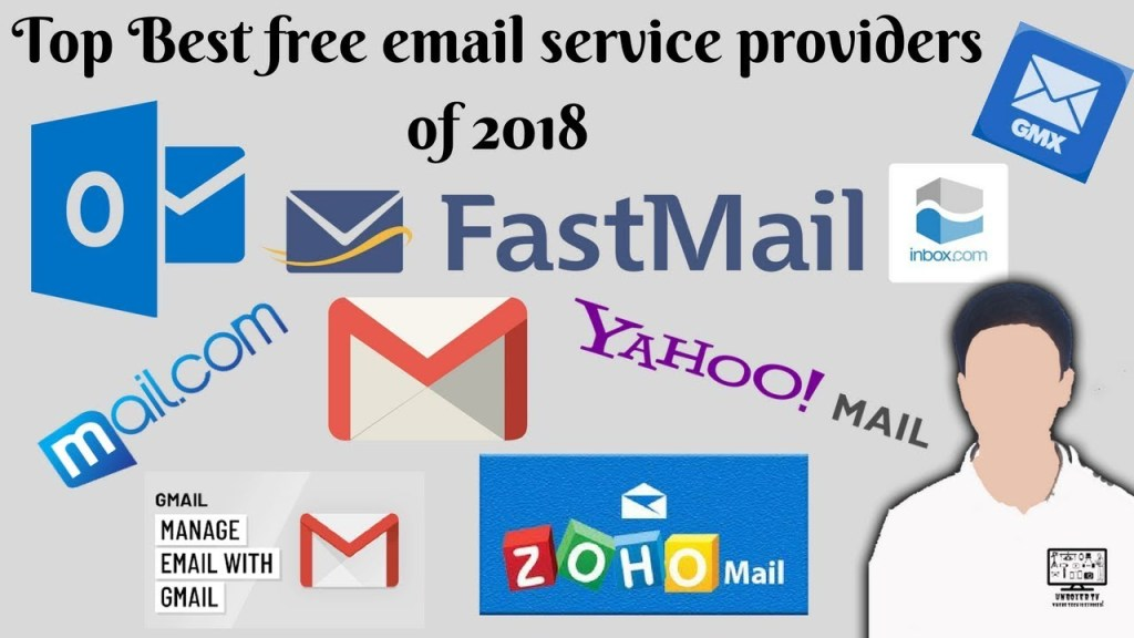 Top email service providers 2018