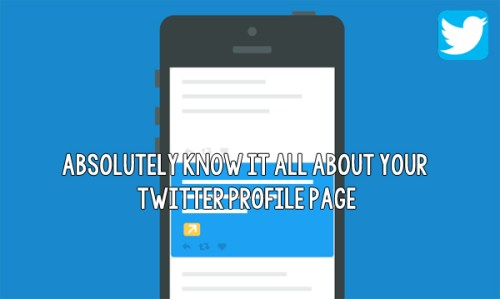 Absolutely know it all about your Twitter Profile Page