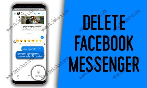 Delete Facebook Messenger