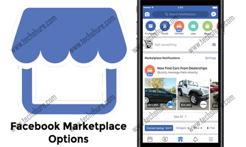 Facebook Marketplace Options