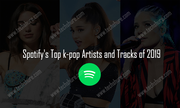 Spotify's Top k-pop Artists and Tracks of 2019