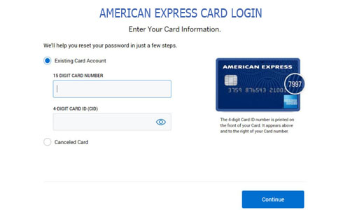 American Express Card Login - American BlueBird