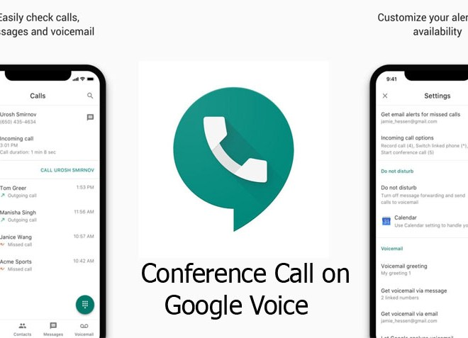 Conference Call on Google Voice