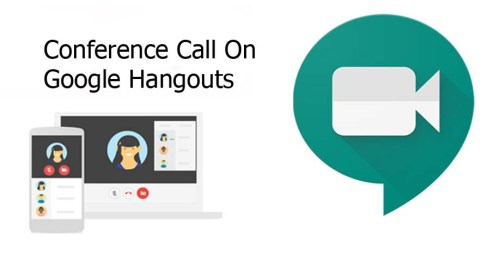 Conference Call on Google Hangouts