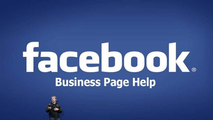 Facebook Business Page Help