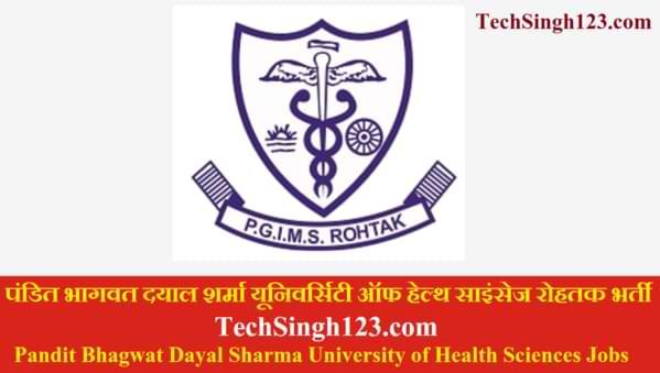 PGI Rohtak Recruitment PGIMS Rohtak Recruitment PGIMS Bharti