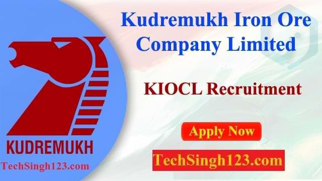 KIOCL Recruitment KIOCL भर्ती KIOCL Bengaluru भर्ती KIOCL Limited Recruitment