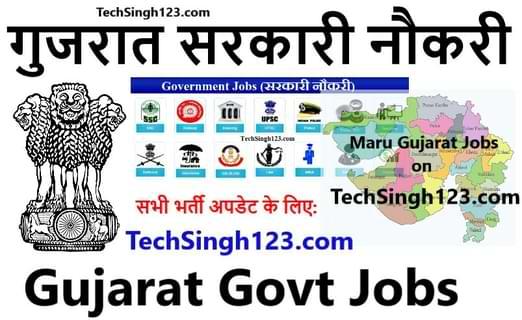 Gujarat Government Jobs गुजरात सरकारी नौकरी Maru Gujarat Jobs