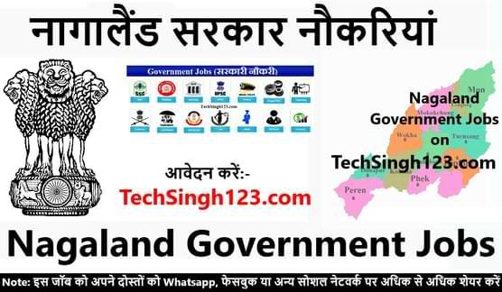 Nagaland Government Jobs नागालैंड सरकारी नौकरी Nagaland sarkari naukri