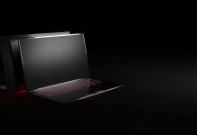 Ultra-thin gaming laptop