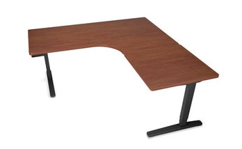 Uplift L-Shaped Laminate Standing Desk
