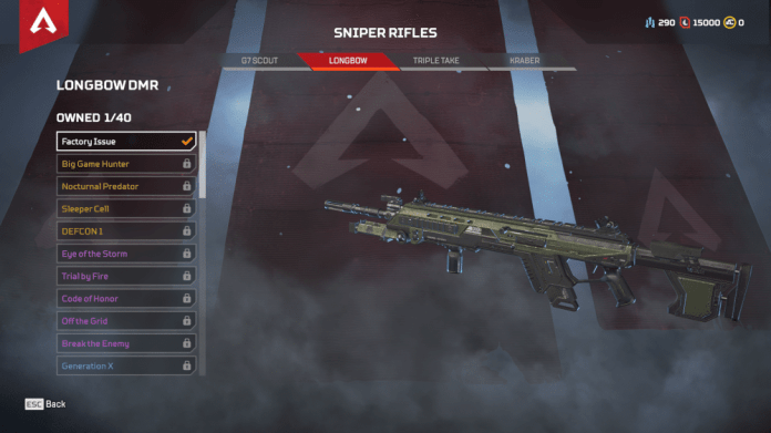Longbow DMR Apex Legends