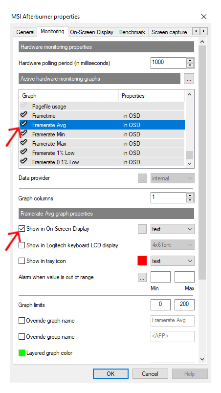 How to Turn on MSI Afterburner Average, Min, and Max FPS (Step by