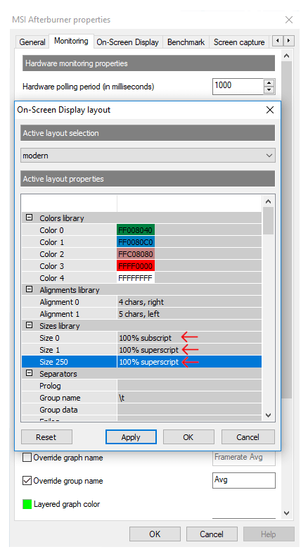 How to Turn on MSI Afterburner Average, Min, and Max FPS