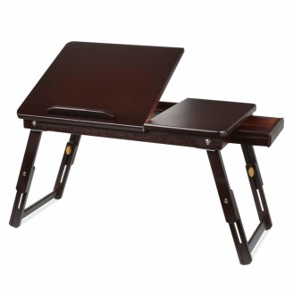 HOMFA Bamboo Laptop Desk