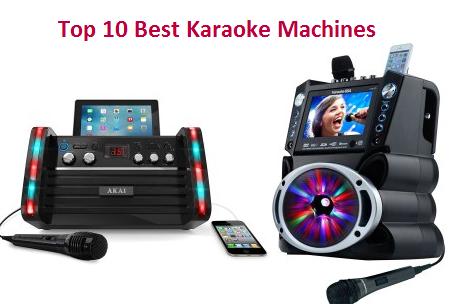 Top 10 Best Karaoke Machines In 2020 Ultimate Guide